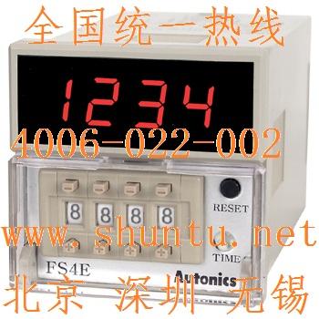韩国奥托尼克斯Autonics代理商Autonics计时器型号FS4E现货timer relay