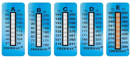 8格测温纸