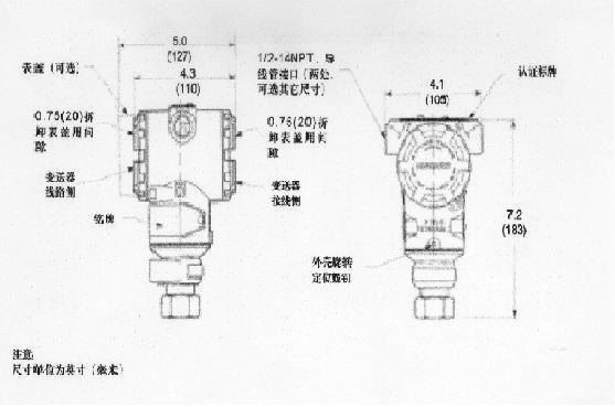 羅斯蒙特3051T型表壓與優良壓力變送器