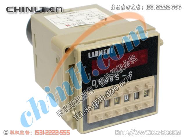 DH48S-S 數顯式時間繼電器