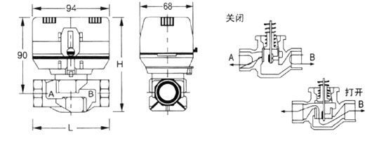 風機盤管電動閥