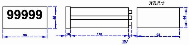 電子尺數顯表