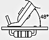 日本固特YN-10精密剪钳(平剪形)  日本GOOT精密剪钳(平剪形)