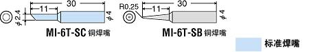 代理日本GOOT固特牌 固特MI-6-6V低電壓電烙鐵