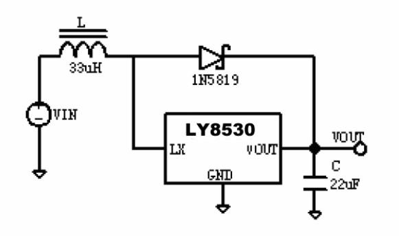 升壓電路LY8530全兼容BL8530