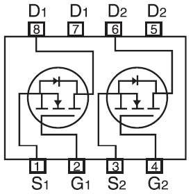 20V耐壓N溝道5A功率MOS管LYM2306