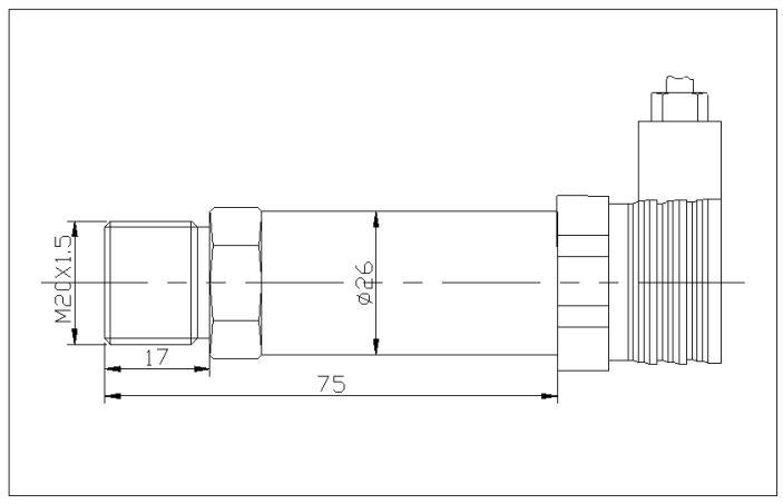 真空压力传感器结构图