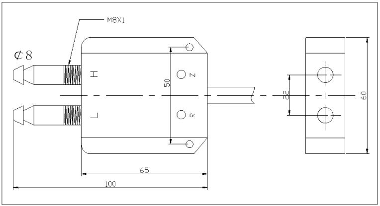 压差传感器尺寸图