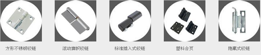 不锈钢铰链RICHCO工程塑料合页、可调压缩型铰链