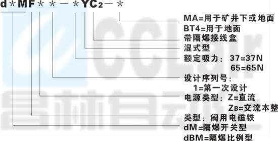 隔爆型閥用電磁鐵  d*MF-45     dBMF-45