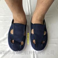 藏青色SPU防靜電鞋