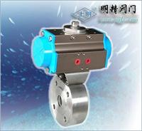 對夾式超短型氣動球閥 Q671F