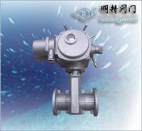 電動管夾閥 SMGJ41X-10K