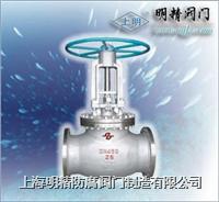 上海國標法蘭柱塞截止閥 柱塞截止閥