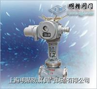 J941H電動法蘭鑄鐵截止閥 J941H