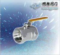 1PCQ11F一片式氣動球閥 Q11F