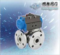 氣動三通球閥(調節型/開關型) SMQ644(45)型