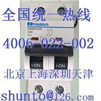 日本ISAWAMURA微型断路器型号KWB8-63N进口断路器品牌C40河村小型断路器ACB空气开关2P KWB8-63N
