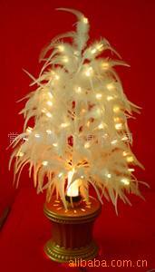 羽毛光纖枝條樹