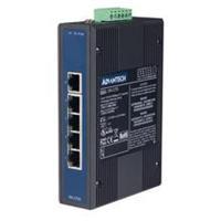 5端口10/100/1000Mbps非网管型千兆工业以太网交换机 EKI-2725