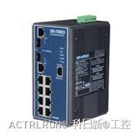 研华EKI-7659CI 8+2G光电组合Combo端口千兆宽温网管型冗余千兆以太网交换机 EKI-7659CI