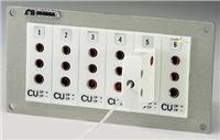 TJP熱電偶插座安裝式面板支架