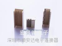 2.0高速背板連接器 2.0高速背板連接器觸點數:30、60、90、120、150、180、210、240、300、390