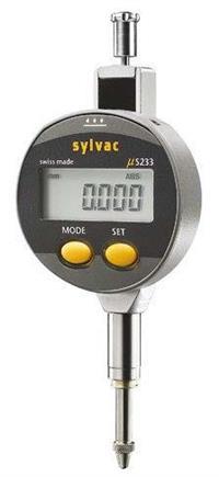 905.4125  12.5mm迷你表盘带保护套数显百分表 SYLVAC  905.4125