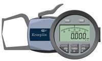 C110S 0-10mm外径卡规 德国KROEPLIN C110S