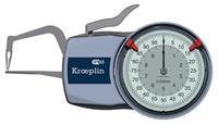 D1R10 0-10mm管道壁厚卡规 德国KROEPLIN D1R10