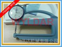 SM-114LW 0~10mm表盘式厚度表日本TECLCOK得乐 SM-114LW