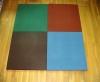 彩色弹性橡胶地砖,橡胶制品,专用耗才,建筑材料