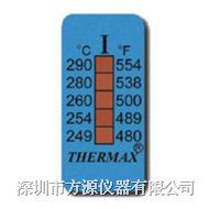 五格溫度熱敏試紙