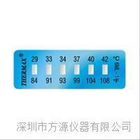 五格S型溫度試紙 英國TMC溫度美 TMC熱敏試紙五格S型 測溫紙```