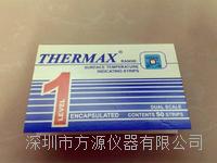 單格熱敏試紙 英國THERMAX溫度美 單格160-290℃測溫紙 溫度試紙```