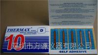 十格D型 熱敏試紙188-370° 英國THERMAX溫度美 不可逆溫度試紙```