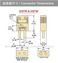 J型热电偶插头