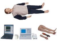 大屏幕液晶彩顯自動電腦心肺復蘇模擬人(IC卡管理軟件) YIM/CPR500S-C