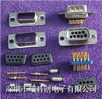 濾波連接器 DB9 DB25 結構組成 點擊進入規格書
