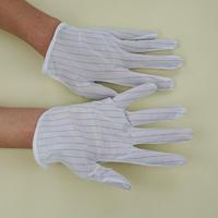 批发PVC点胶双面防静电手套品质优异