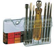 NO.5400螺丝批(7支装)|日本罗宾汉RUBICON检电螺丝批套装NO.5400  NO.5400