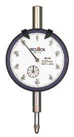TM-105百分表|日本得樂TECLOCK表盤式百分表TM105  TM-105