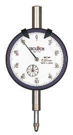 TM-110R百分表|日本得樂TECLOCK表盤式百分表TM110R  TM-110R