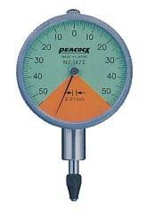 日本孔雀PEACOCK 指針式比測型量表 147Z   147Z