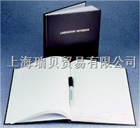 美國Nalgene,6302-1000, 二聯式實驗室筆記本,普通紙張頁面;褐色聚乙烯封面 6302-1000