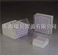 美國nalgene,凍存盒(可容納25和81個管瓶),聚碳酸酯,5027-0909 5027-0909