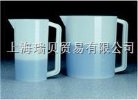 美國Nalgene 1220-2500,3000ml, 帶柄帶刻度燒杯 1220-2500,3000ml