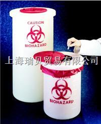 Nalgene,6370-0005, 生物危險廢品容器(PP),19L 6370-0005,19L
