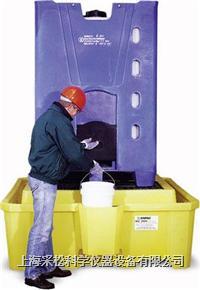 IBC中型集装桶盛漏底盘 带排污口,Enpac,5469-YE-D