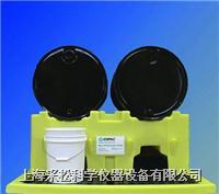 双桶单层分装盛漏堆栈系统   Enpac,6004-YE